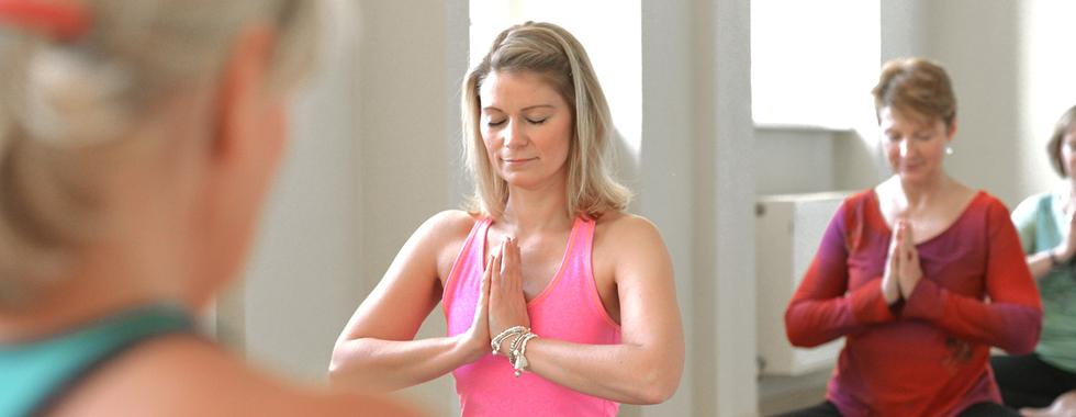 """Namaste – der yogische Gruß """"Das Licht in mir grüßt das Licht in dir"""""""