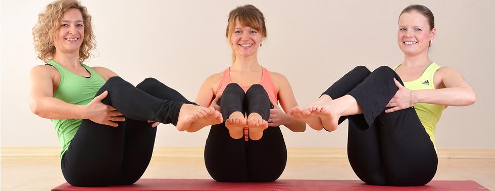 Pilates pur – eine kraftvolle Bauchmuskulatur entlastet Deinen Rücken
